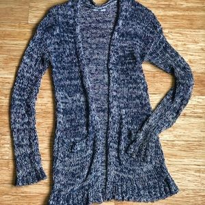 Nordstrom RUBBISH Brand Open Front Knit Cardigan